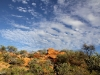 Afternoon scene along the Bradshaw Walk south of the Old Telegraph Station, Alice Springs
