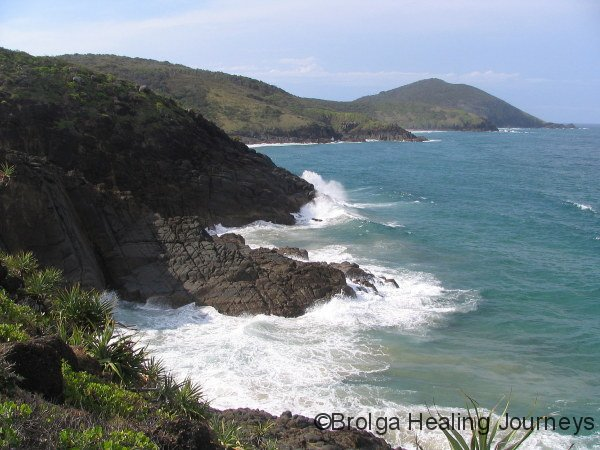 Headlands at Hat Head National Park NSW