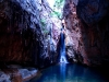 The sublime waterfall at the head of El Questro Gorge, the Kimberley