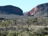 View across to Simpson's Gap, from walk to Rocky Gap, West MacDonnell Ranges