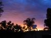 Carnarvon, WA, sunrise over the OTC Dish