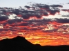 Pilbara sunset - mirroring the colours of the rock