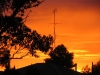 West Wyalong - sunrise on our first morning away from Canberra