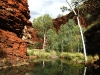 Weano Gorge, approach to Handrail Pool, Karijini Ntl Pk