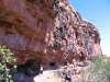 The dramatic overhang and artsite south of Wyndham, the Kimberley