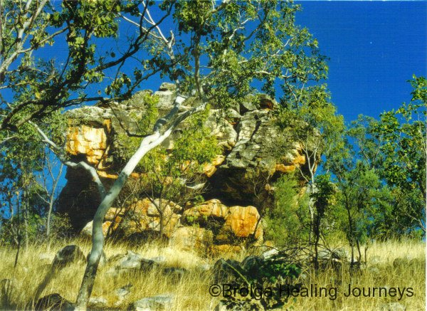 Eagle Rock, another Wandjina site