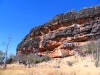 The dramatic approach to the Langurrngurru Wandjina art site, north of Windjana Gorge, Napier Range, the Kimberley