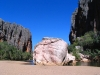 Bandangnan, the 'boss rock' of Windjana Gorge, southern Kimberley.  This rock is literally as big as a house.