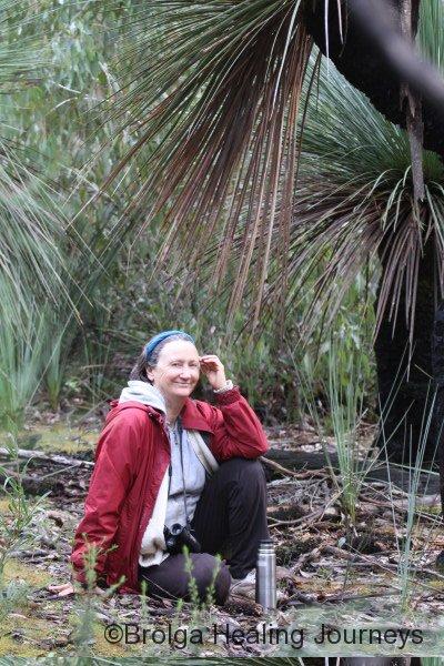 Nirbeeja doing a spot of bird watching